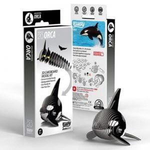 Eugy Orca 3D Craft Kit