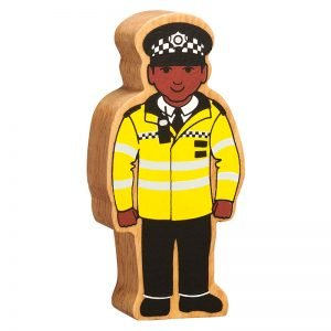 Lanka Kade Wooden People Who Help Us – Policeman Black Skin