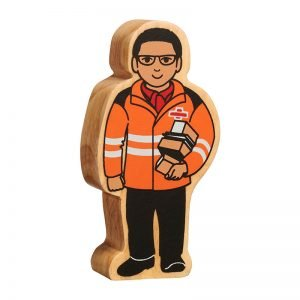 Lanka Kade Wooden People Who Help Us – Delivery Person