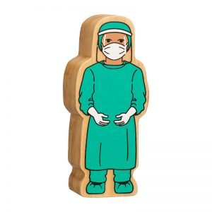 Lanka Kade Wooden People Who Help Us – Surgeon in Visor