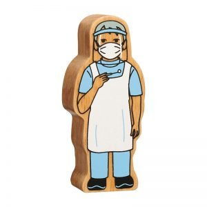 Lanka Kade Wooden People Who Help Us – Dentist