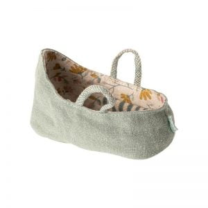 Maileg Carry Cot MY – Dusty Green