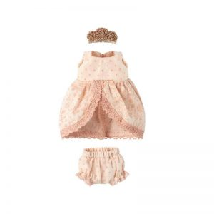 Maileg Princess Dress, Rose