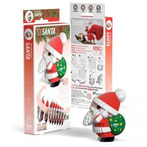 Eugy SANTA 3D Craft Kit