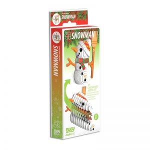 Eugy CHRISTMAS SNOWMAN 3D Craft Kit